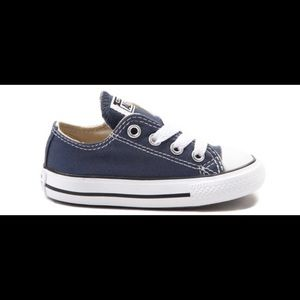 Converse All Star Lo Sneaker Baby / Toddler -Navy